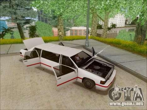 Elegant Limousine para la visión correcta GTA San Andreas