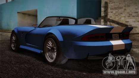 GTA 5 Invetero Coquette v2 para GTA San Andreas left