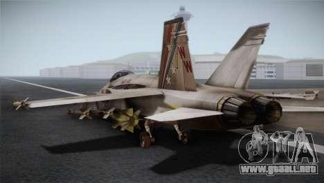 F-18 Hornet (Battlefield 2) para GTA San Andreas left