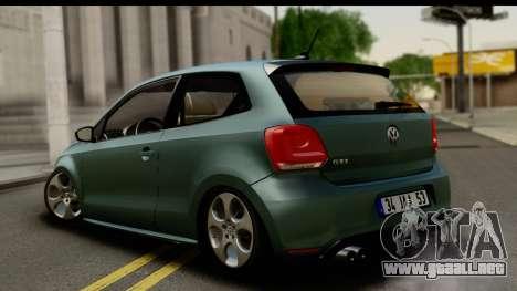 Volkswagen Polo GTI para GTA San Andreas left