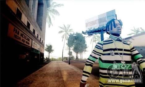 S-Shader Final Edition para GTA San Andreas sucesivamente de pantalla