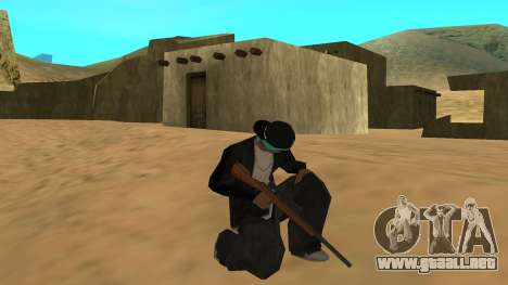 Standard HD Weapon Pack para GTA San Andreas quinta pantalla