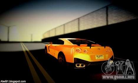 Blacks Med ENB para GTA San Andreas décimo de pantalla