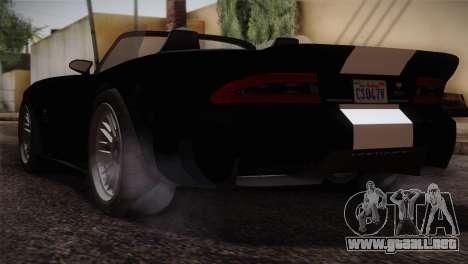 GTA 5 Invetero Coquette v2 IVF para GTA San Andreas left