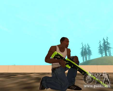 Sharks Weapon Pack para GTA San Andreas segunda pantalla