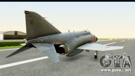 F-4EJ Mitsubishi Heavy Industries para GTA San Andreas left