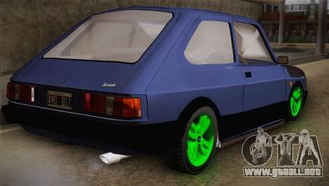 Fiat 147 Tuning para GTA San Andreas left