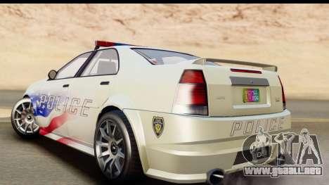 EFLC TBoGT Albany Police Stinger para GTA San Andreas left