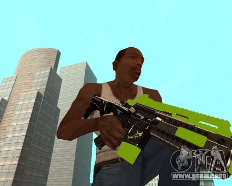 Sharks Weapon Pack para GTA San Andreas tercera pantalla