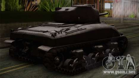 M4 Sherman para GTA San Andreas left