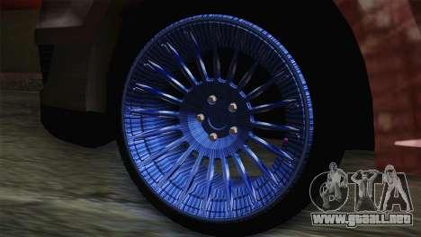 Dacia Logan Most Wanted Edition v1 para GTA San Andreas vista posterior izquierda