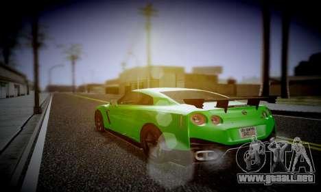 Blacks Med ENB para GTA San Andreas tercera pantalla