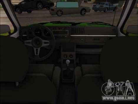 Volkswagen Golf GTD Mk1 para GTA San Andreas vista hacia atrás