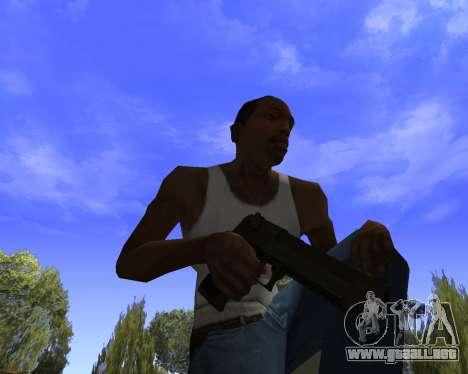 Skins Weapon pack CS:GO para GTA San Andreas sucesivamente de pantalla