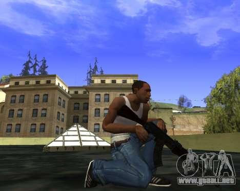Skins Weapon pack CS:GO para GTA San Andreas décimo de pantalla