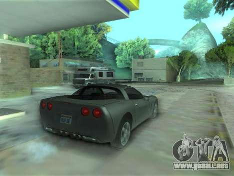 Chevrolet Corvette C6 para GTA San Andreas left