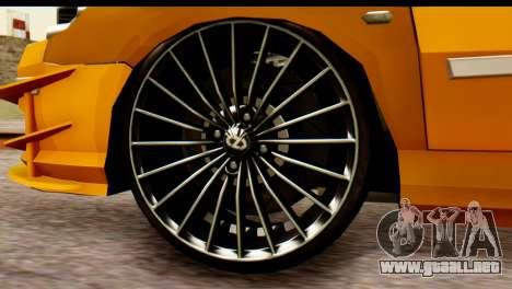 Peugeot 407 Sport Taxi para la visión correcta GTA San Andreas