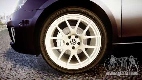 Volkswagen Golf Mk6 GTI rims2 para GTA 4 vista hacia atrás