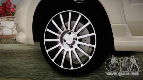 Lada Granta Sport para GTA San Andreas vista posterior izquierda