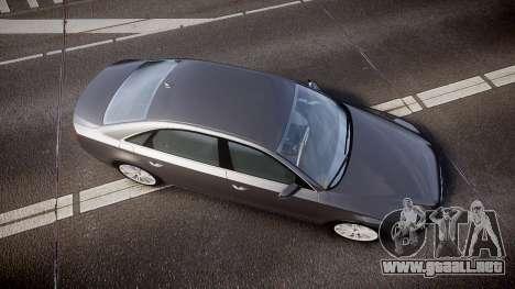 Audi A8 L 4.2 FSI quattro para GTA 4 visión correcta
