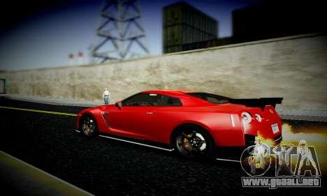 Blacks Med ENB para GTA San Andreas octavo de pantalla