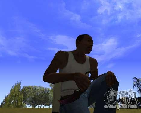 Skins Weapon pack CS:GO para GTA San Andreas tercera pantalla