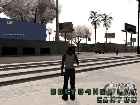 Colormod v5 para GTA San Andreas segunda pantalla