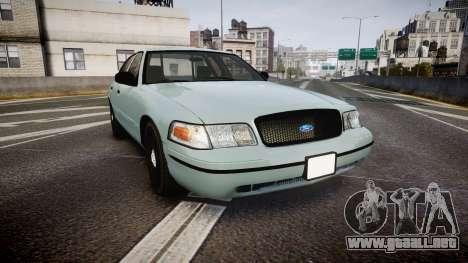 Ford Crown Victoria 2007 para GTA 4