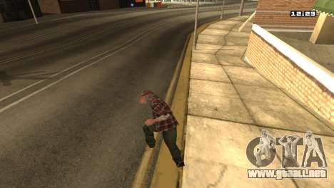 Mezclan estilos de lucha para GTA San Andreas quinta pantalla
