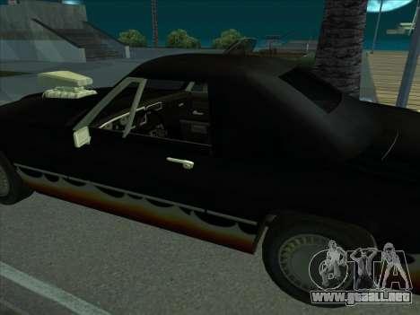 Diablo Stallion из GTA 3 para la visión correcta GTA San Andreas