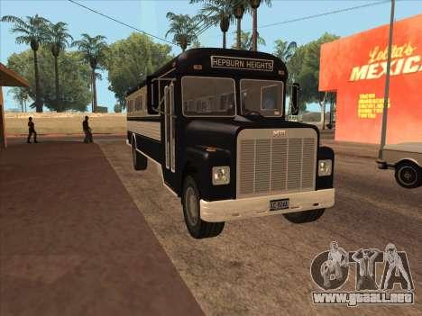 Autobús из GTA 3 para GTA San Andreas left