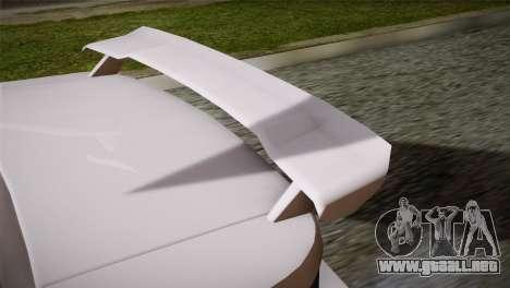 MP3 Fathom Lemanja LX SA Mobile para GTA San Andreas vista hacia atrás