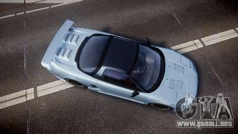 Honda NSX 1998 [EPM] para GTA 4 visión correcta
