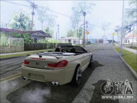 BMW M6 Cabriolet 2012 para GTA San Andreas left