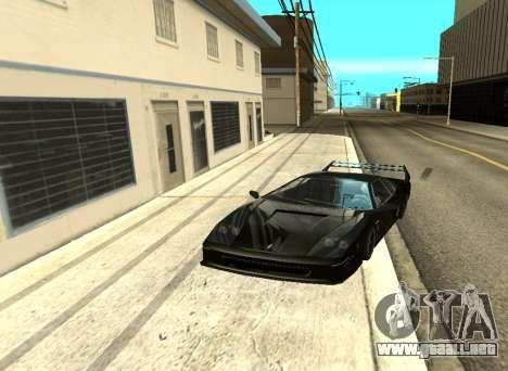 ENB los Reflejos en los coches para GTA San Andreas quinta pantalla