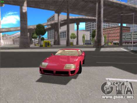High Definition Graphics para GTA San Andreas segunda pantalla