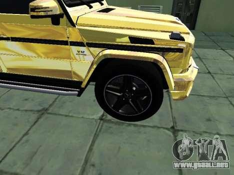 Mercedes-Benz G65 AMG para la visión correcta GTA San Andreas