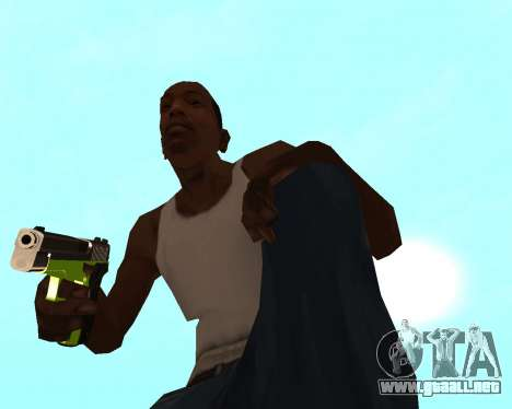 Sharks Weapon Pack para GTA San Andreas octavo de pantalla