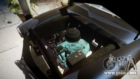Ford Custom Club 1949 v2.1 para GTA 4 vista hacia atrás
