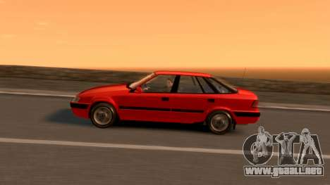 Daewoo Espero 2.0 CD 1996 para GTA 4 interior
