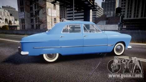 Ford Custom Fordor 1949 v2.1 para GTA 4 left