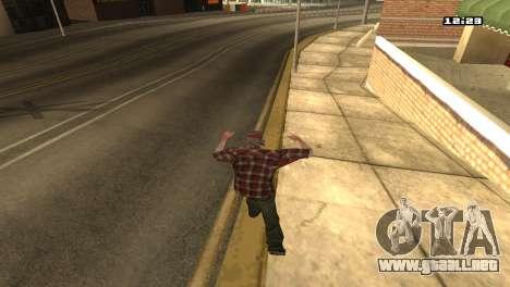 Mezclan estilos de lucha para GTA San Andreas sucesivamente de pantalla