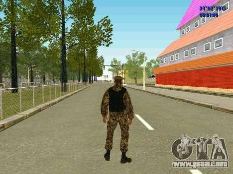 Las flechas de la milicia no molestar para GTA San Andreas quinta pantalla