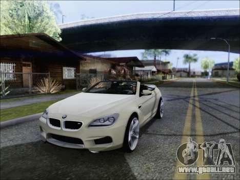 BMW M6 Cabriolet 2012 para GTA San Andreas