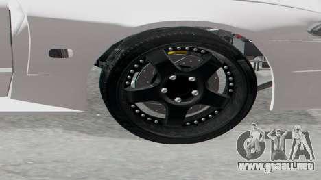 Elegy Facelift S15 para GTA San Andreas vista posterior izquierda