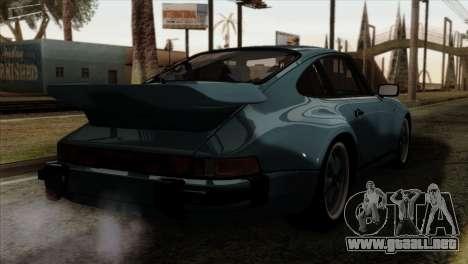 Porsche 911 Turbo 3.3 Coupe 930 1981 para GTA San Andreas left