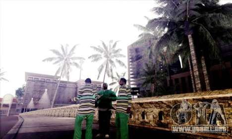S-Shader Final Edition para GTA San Andreas segunda pantalla