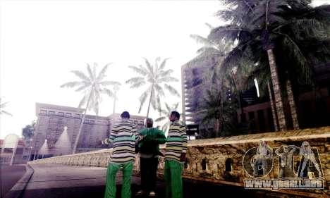 S-Shader Final Edition para GTA San Andreas segunda pantalla