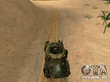 SdKfz.222 para GTA San Andreas left