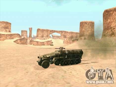 Sd Kfz 251 Camuflaje Desert para GTA San Andreas